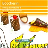 Boccherini: String Quartets, Op. 8 / Quartetto D'Archi Di Venezia