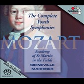 Mozart: Complete Youth Symphonies / Marriner, ASMF [4 CDs]