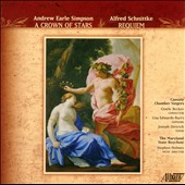 Andrew Simpson: A Crown of Stars; Alfred Schnittke: Requiem / Lisa Edwards-Burrs, soprano; Joseph Dietrich, tenor
