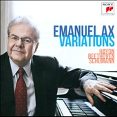Variations: Haydn, Beethoven, Schumann / Emanuel Ax, piano