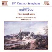 Hofmann: Five Symphonies / Ward, Northern Chamber Orch