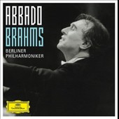 Brahms: Complete Symphonies; Serenades, Overtures, Vocal works with orchestra / Marjana Lipovsek, Claudio Abbado