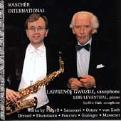 Raschèr International - Saxophone Works / Gwozdz, Leventhal