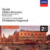 Vivaldi: L'Estro Armonico, Flute Concertos / Hogwood, et al