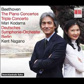 Beethoven: The Piano Concertos Nos. 1-5; Triple Concerto / Mari Kodama, piano; Kolja Blacher, violin; Johannes Moser, cello