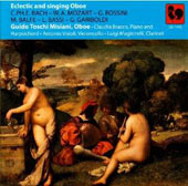 'Eclectic and Singing Oboe' : Works by C.P.E. Bach, Mozart, Rossini, Bassi et al. / Misiani, oboe; Bracco, piano; Visioli, cello; Magistrelli, clarinet