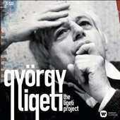 The Ligeti Project - concertos, choral works, orchestral works / Pierre-Laurent Aimard, piano; Frank Peter Zimmermann, violin; Katalin Karolyi, mz; Heinz Holliger, oboe