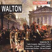 Walton: Belshazzar's Feast, Symphony no 1, etc / Willcocks