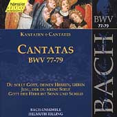 Edition Bachakademie Vol 25 - Cantatas BWV 77-79 / Rilling