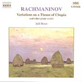Rachmaninov: Variations on a Theme of Chopin, etc / Biret
