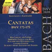 Edition Bachakademie Vol 52 - Cantatas BWV 172-175 / Rilling