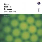 Debussy, Franck, Faure: Cello Sonatas / Noras, Rigutto