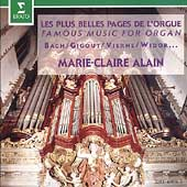 Les Plus Belle Pages De L'Orgue / Marie-Claire Alain