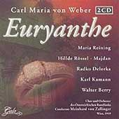 Weber: Euryanthe / von Zallinger, Reining, Delorko, et al
