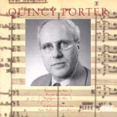Porter: Symphony no 1, etc / Hobson, Sinfonia Varsovia