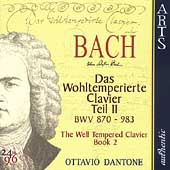 Bach: The Well-Tempered Clavier Book II / Ottavio Dantone