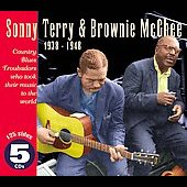 Sonny Terry: Country Blues Troubadours 1938-1948 [Box]