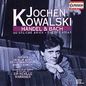 H&auml;ndel & Bach: Sacred Arias / Jochen Kowalski, Marriner