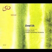 Dvorak: Symphonies no 6-9 / Davis, London SO