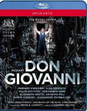 Mozart: Don Giovanni / Kwiecien, Esposito, Gens, et al.;  Orchestra & Chorus of the Royal Opera House; Luisotti [Blu-ray]