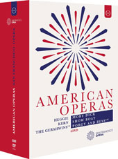 'American Operas' - Heggie: Moby Dick; Kern: Show Boat; Gershwin: Porgy and Bess / Jay hunter Morris; Stephen Costello; Bill Irwin; Patricia Racette; Eric Owens; Laquita Mitchell et al. [6 DVD]