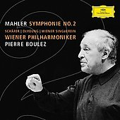 Mahler: Symphony no 2 / Boulez, Vienna Philharmonic, et al