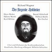Wagner: Der fliegende Holl&auml;nder / Hotter, Krebs, et al