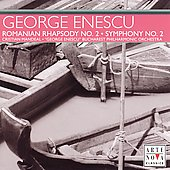 Enescu: Romanian Rhapsody no 2, Symphony no 2  / Mandeal