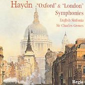 Haydn, Mozart: Symphonies / Groves, English Sinfonia
