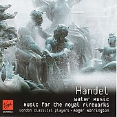 Handel: Water Music, Royal Fireworks / Roger Norrington