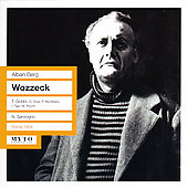 Berg: Wozzeck, etc / Sanzogno, Gobi, Picchi, Cuenod, et al
