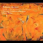 Martinu: Symphony no 1, Estampes, Le Depart / Weller, et al