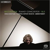 Beethoven: Piano Concerto no 1 & 3 / Brautigam, Parrott, Norrk&ouml;ping SO