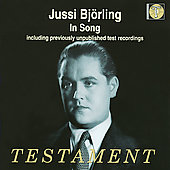 Jussi Björling in Song