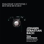 Bach: Dialogue Cantatas Vol 1 / Koopman, et al