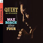 Max Roach: Quiet as It's Kept [Digipak]