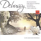 Debussy: Estampes, Arabesques, Children's Corner, etc  / Jean-Bernard Pommier