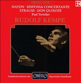 Haydn: Sinfonia Concertante; Richard Strauss: Don Quixote