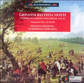 Giovanni Battista Viotti: Complete Violin Concertos, Vol. 9