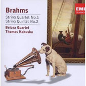 Brahms: String Quatet No. 1; String Quintet No. 2