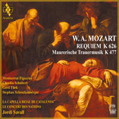 W.A. Mozart: Requiem K 626; Mauererische Trauermusik K 477