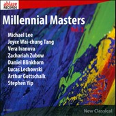 Millennial Masters, Vol. 2: chamber music by Lee, Tang, Ivanova, Zubow, Blinkhorn, Gottschalk / Jiwon Kwark, violin; HaEun Lee, piano
