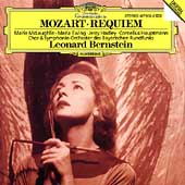 Mozart: Requiem / Bernstein, McLaughlin, Ewing, Hadley