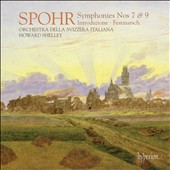Louis Spohr: Symphonies Nos.7 & 9 / Howard Shelley