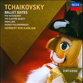 Tchaikovsky: Ballet Suites - Nutcracker; Sleeping Beauty; Swan Lake / Karajan - Vienna PO