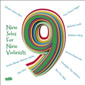 Nine Solos for Nine Violinists - works by Haugland, Paus, Kleiberg, Hvoslef, Koch et al. / various solo violinists
