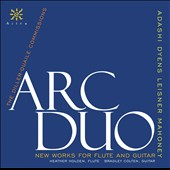 New Works for Flute & Guitar - works by Dyens, Leisner, Adashi & Mahoney / Heather Holde, flute; Bradley Colten, guitar