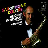 Saxophone Colors / Eugene Rousseau, Hans Graf