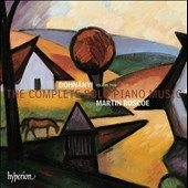 Dohn&aacute;nyi: The Complete Solo Piano Music, Vol. 2 / Martin Roscoe, piano