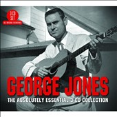 George Jones: Absolutely Essential 3CD Collection